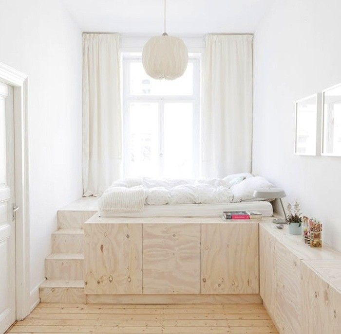 Ko na pode cie proste wn trze - Space saving ideas for small childrens bedrooms minimalist ...