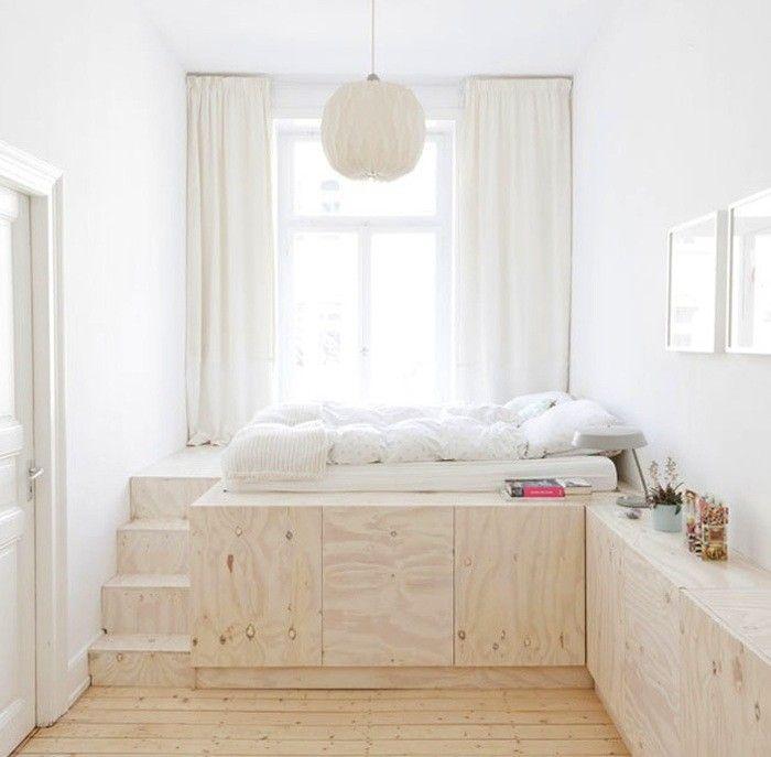 Ko na pode cie proste wn trze for Zen type bedroom ideas