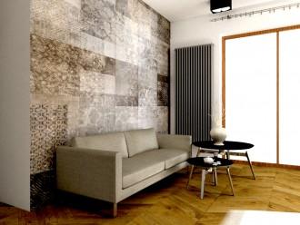 Projekt salonu by Proste Wnętrze