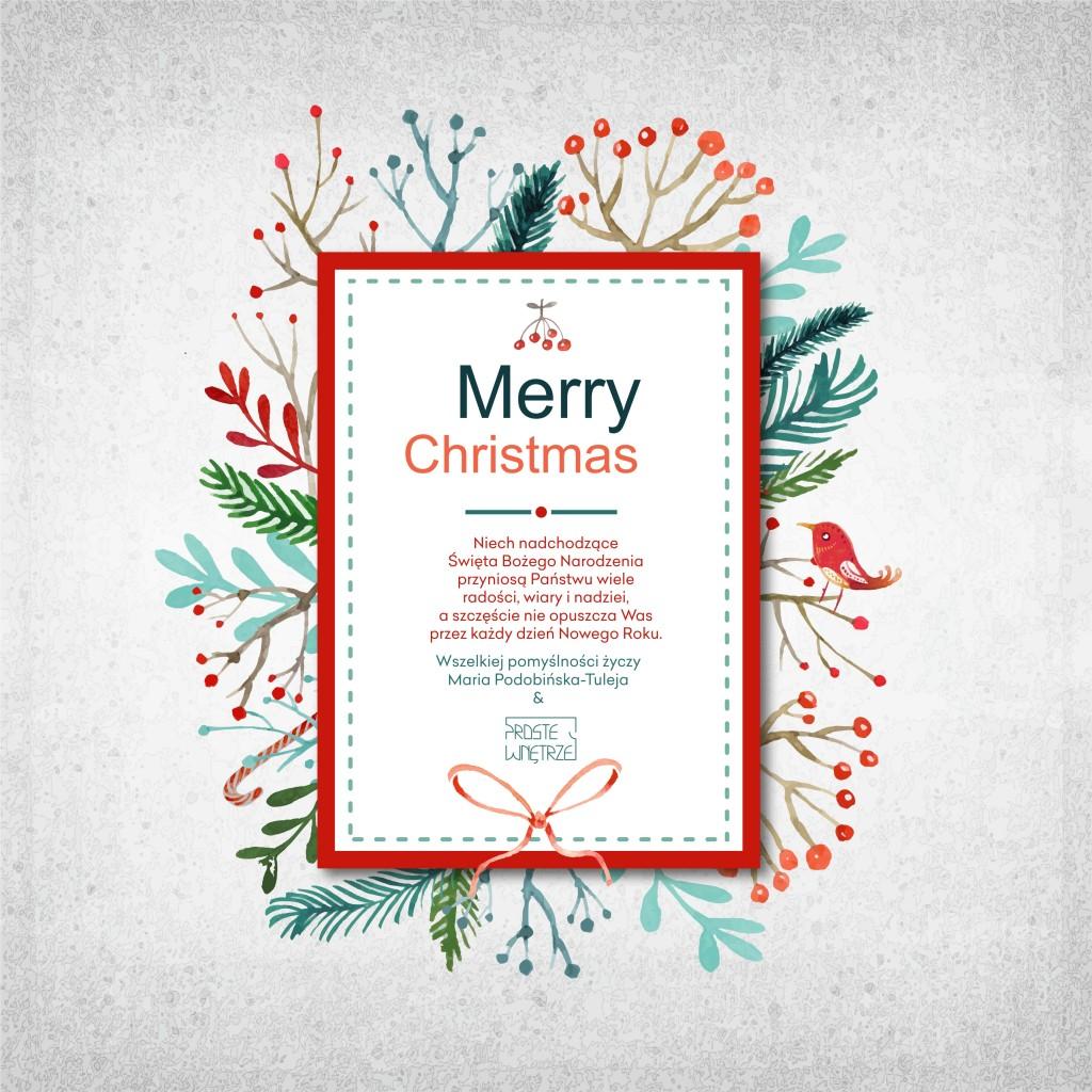 Proste świąteczne życzenia