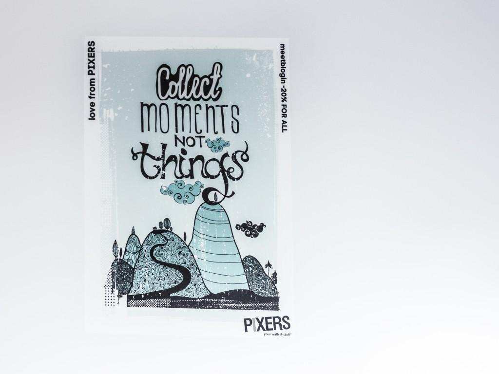 Plakat PIXERS dla uczestników Meetblogin 2015